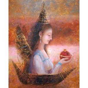 картина маслом, Вимірювання мудрості, Мацегора Олена