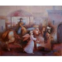 картина маслом, Путешествие на Восток, Мацегора Елена