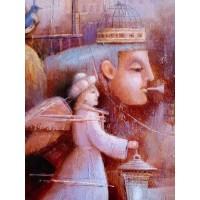 картина маслом, Путешествие на Восток, Ангел, Мацегора Елена