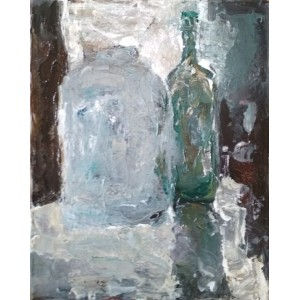 картина, Банка и Бутылка, Штепура Елена