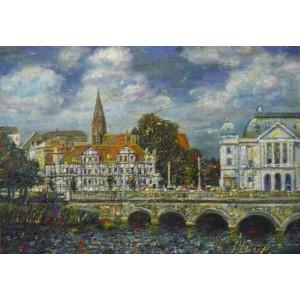 Центр города. Старая Европа