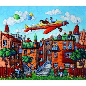 Полет над городом