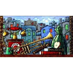 Натюрморт с джазовыми нотками