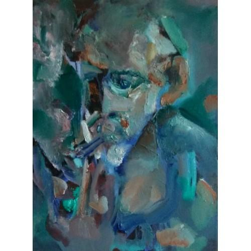 Зеленый портрет