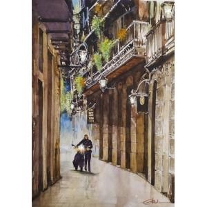 На улицах Берселоны