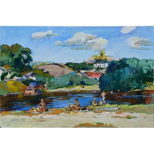 Десна возле Чернигова