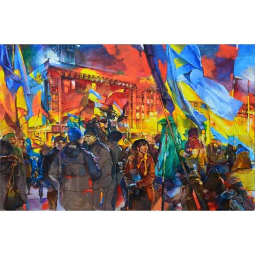 Киев. Майдан Незалежности 2014