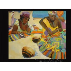 Полотенце по-африкански