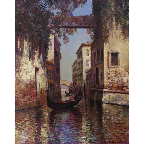 Утро Венеция