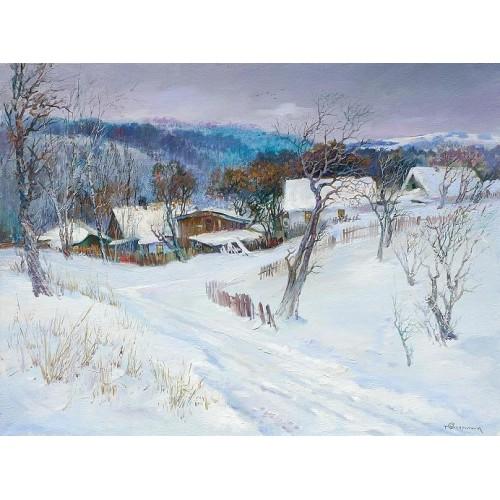 Зима на околице Житомира