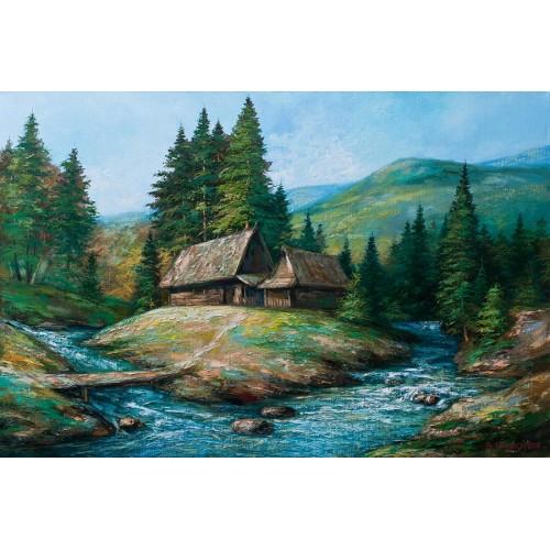 Хатинки в горах