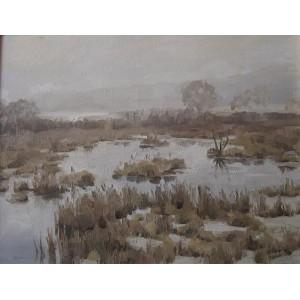 Туман на озерах