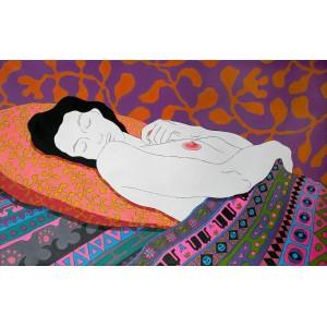 Спящая с соском