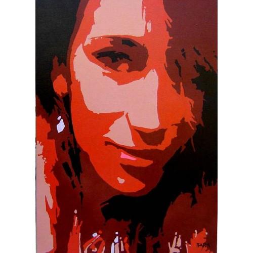 Маша, портрет