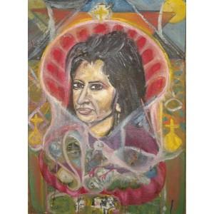 Портрет женщины - Арт Онлайн Украина Современная живопись Картины художников Украины.