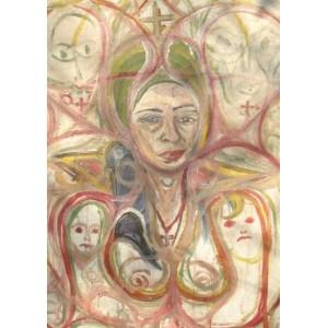 Портрет женщины 2 - Арт Онлайн Украина Современная живопись Картины художников Украины.