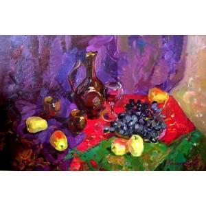 Яблоки и виноград