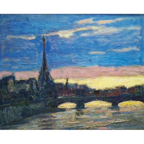 Сутінки над Парижем