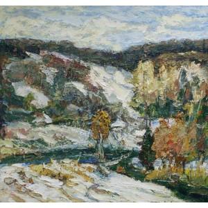 Оскольські пагорби взимку