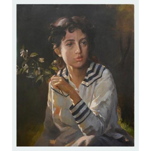 Дочь художника, копия