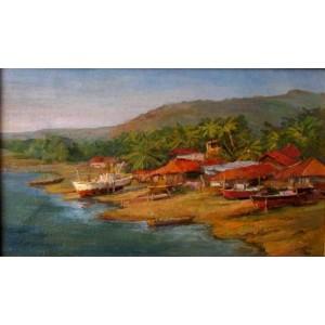 Ратнагири. Рыбацкая деревня