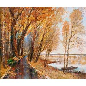 Осінь над озером