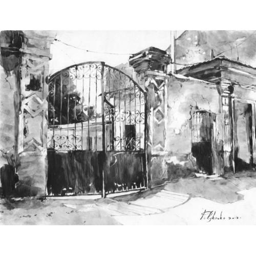 Старые ворота