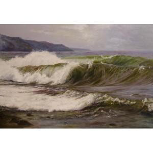 Бьют волны