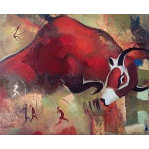 Красный бычок
