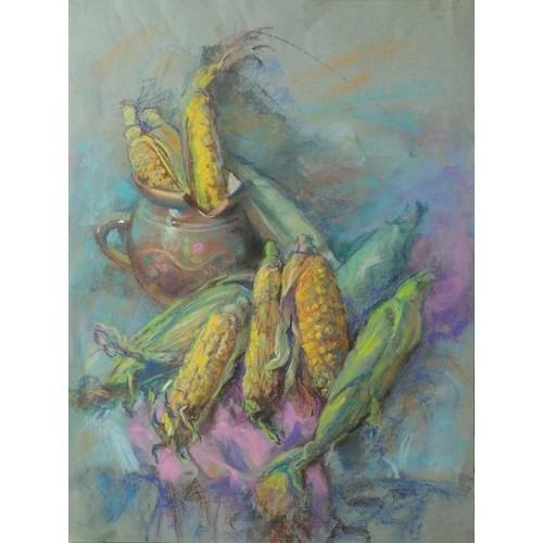 Кувшин с кукурузой