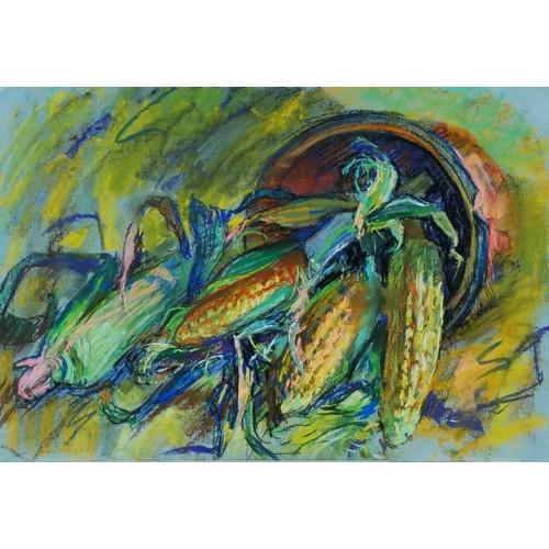 Кукуруза в кувшине