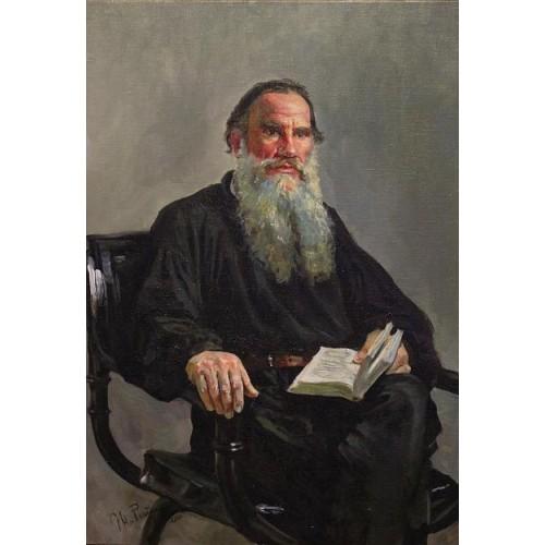 Портрет писателя Л.Н. Толстого