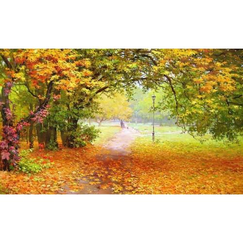 Двое. Осенний парк