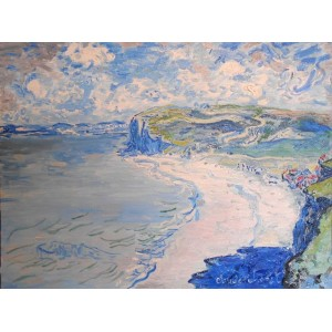 Пляж в Пурвиле