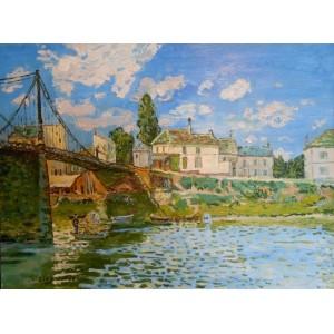 Мост в Вильнев-ла-Гаренн
