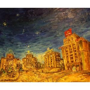Орион над Киевом