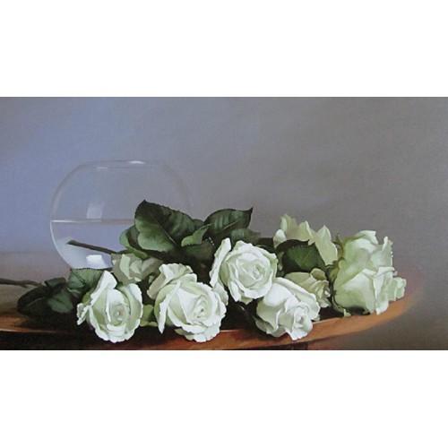 Лежащие розы