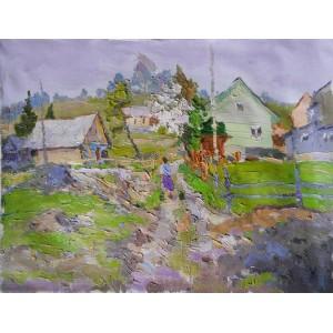 Весна в Яблуницах