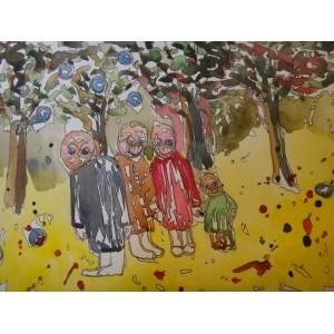 Жители Голосеевского леса