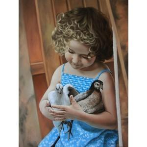 Девочка с птицами
