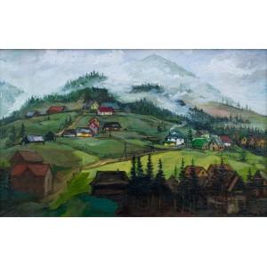 Вид на гору Хомяк