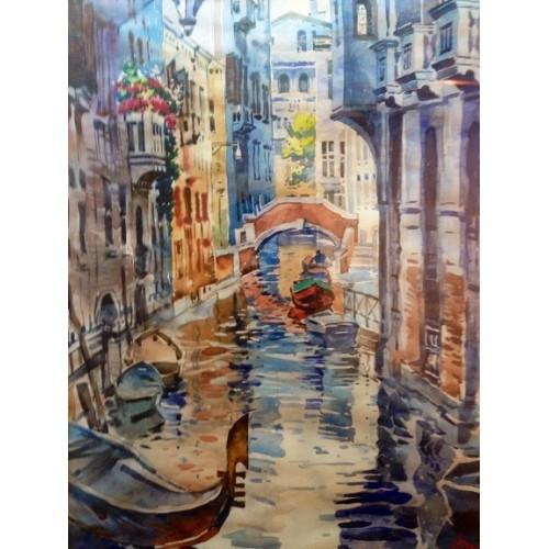 Венеция акварелью
