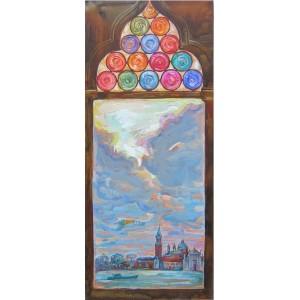 Из венецианского окна