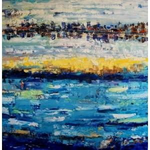Бескрайнее синее море