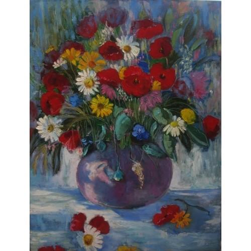 Букет полевых цветов высокого 88