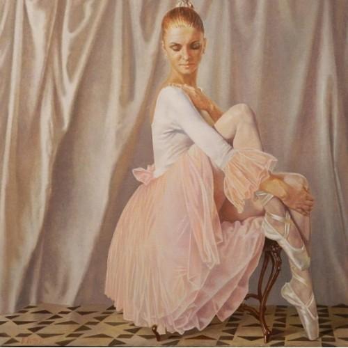 Балерина в розовом