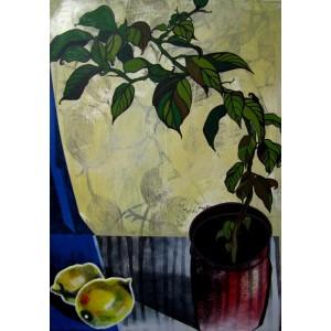 Натюрморт з лимоном