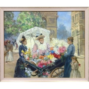 Парижская цветочница