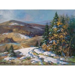 В горах