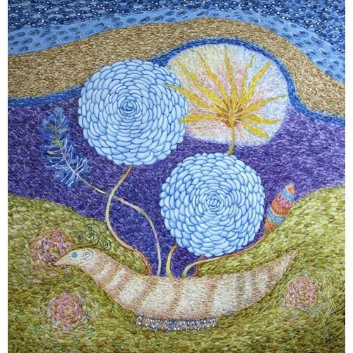 Натюрморт с солнечным цветком